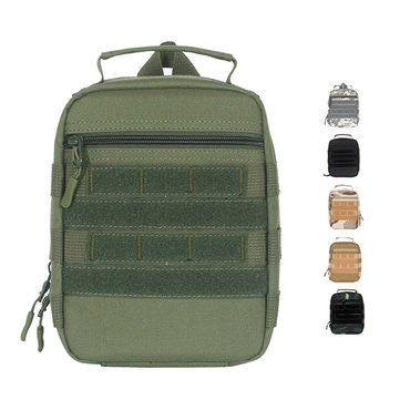 Men Oxford Camo Tactical Multifunction First Aid Kit Bag