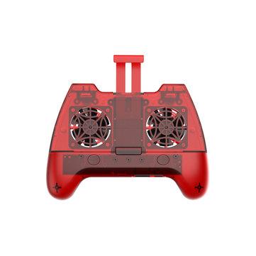 Wireless Bluetooth Gamepad Game Controller Joystick Lüfter für PUBG Android IOS-Handy