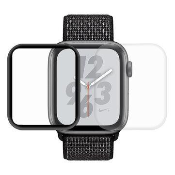 2 Packungen Enkay 3D Curved Edge HAUSTIER-Uhr Displayschutzfolie für Apfel Watch Series 4 44mm