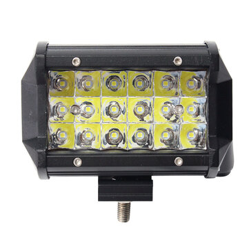 5 Pollici 36W LED Barra luminosa da lavoro Fascio di luce IP67 10-30 V Super White 1 PZ per Jeep Off Road Truck Boat