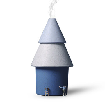 Park Life PY-JSQ-005 Mini Tree Humidifier Electric Air Purifier USB Portable Ultrasonic Humidifier For Car Office Dormitory 250ML Mist Maker