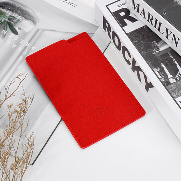 Bakeey 10000mAh Waterproof Power Bank Case Felt Cloth Protective Bag From Xiaomi Eco-System For HUAWEI P30 Mate 20Pro Xiaomi Mi9