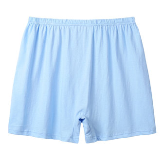 Mens Casual Loose Cotton Breathable Comfortable High Rise Boxer Underwear