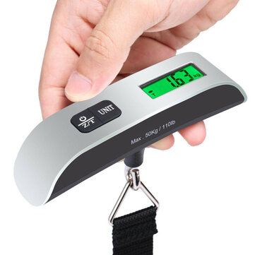 50KG Digital Electronic Scale Travel Portable Handheld Weighing Luggage Scales Suitcase BAG