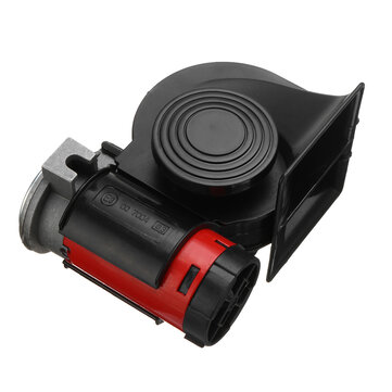 12V 139dB Electric Air Horn Dual Tone Trumpet Loud Pump with Compressor for Car Truck Motorcycle