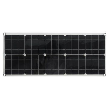 80W High-Efficiency Solar Panel Portable Single-Crystal Power Panels