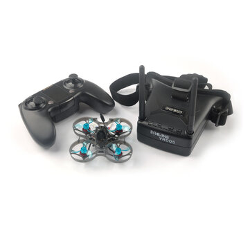 Eachine Novice-I 75mm 1-2S Whoop FPV Racing Drohne RTF & Fly mehr mit WT8 2.4G Transmitter 5.8Ghz 48CH VR005 Goggles