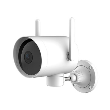 IMILAB N2 From Xiaomi Eco-system 270° IP66 1080P Smart Outdoor IP Camera Human Motion Detect IR Night Vision Support 256G TF Card & Cloud Storage Security Monitor CCTV