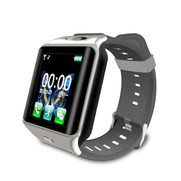 Bakeey M10 1.54' GSM Video Chat Real-time Heart Rate Sleep Monitor Music Control Camera Smart Watch Phone