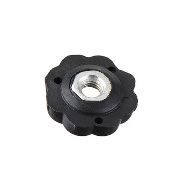 Plum Star Through Hole  Heat Bed Hand Screw Levelilng Nut for 3D Printer Hotbed