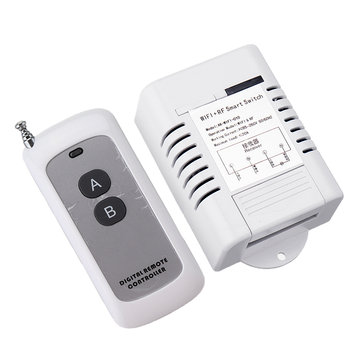 AC90-260V 30A WiFi Remote Control Switch + RF Wireless Transmitter Support eWeLink Android IOS