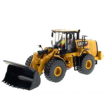 CAT 972M Carter Wheel Loader Alloy Engineering Model Decoration Toys 1:50 85927