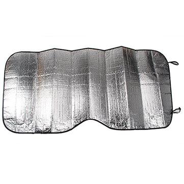 Auto Araba Rüzgar Kalkanı Ön Cam Vizör Kapağı Güneşlik Gümüş Folyo